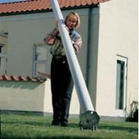Opsætning af flagstang