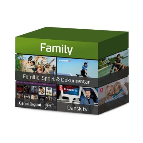 Tv-pakken Family