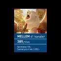 ViasatMellem 389,- all inclusive
